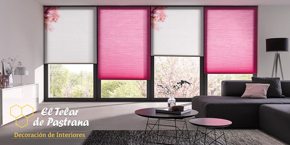 cortinas duettes salon