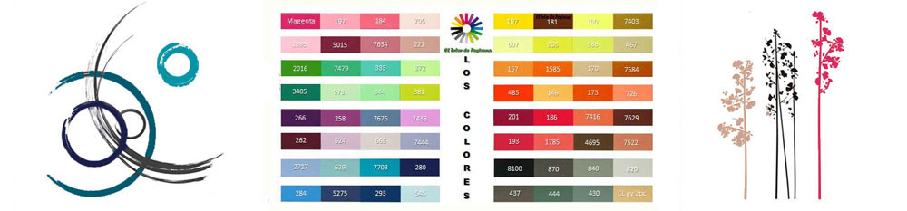 los colores para imprimir