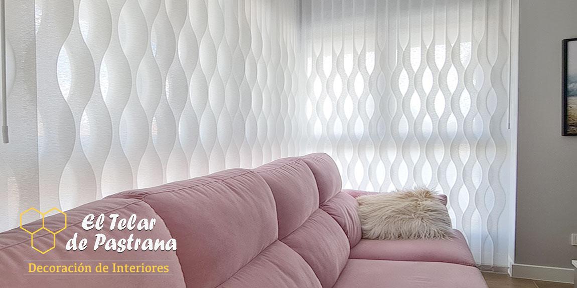Las cortinas Vrticales de moda