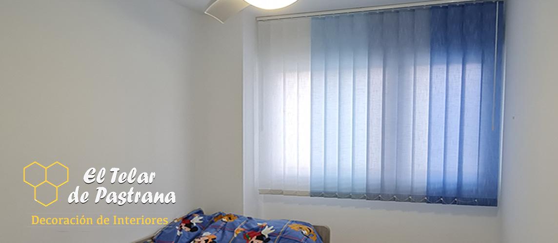 cortinas verticales niños