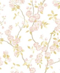 DELICACY SPRING FLOWER TAUPE / ROSE