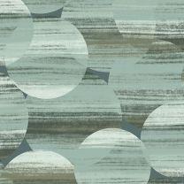 Detalle papel pintado circulos